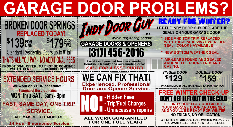 Ready For Wintet Garage Door Service